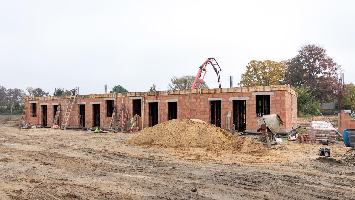 Osiedle Złoty Jasieniec Łódź - budowa