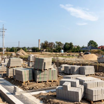 Budowa osiedla Złoty Jasieniec w Łodzi