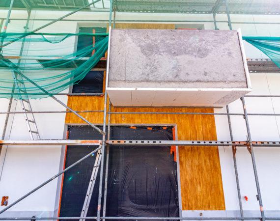 Domy nabierają kolorów, wnętrza prawie gotowe