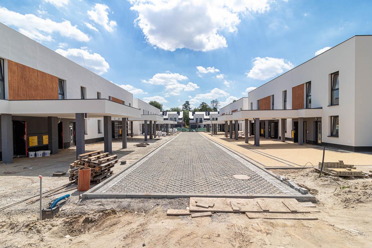 Osiedle Złoty Jasieniec - budowa 07/2020